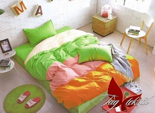 Постельное белье TAG Color Mix APT009 семейный 150x215x2