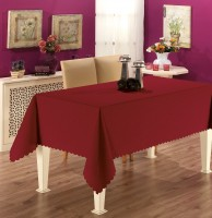 Скатерть Jackline Embossed Collection Bordo 150x220