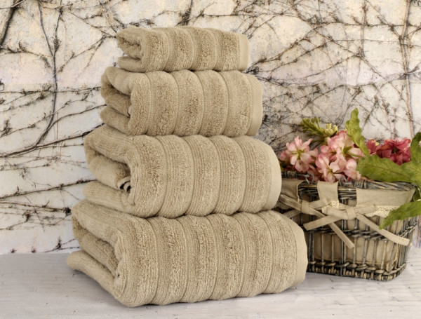 Полотенце Irya Waves Beige 70x130